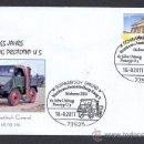 Sellos: ALEMANIA 2011. MATASELLO ESPECIAL TRANSPORTES. CAMIONES. UNIMOG PROTOTIPO U 5. Lote 28757120