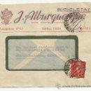 Sellos: O3-CARTA COMERCIAL PUBLICIDAD MURCIA FLORIDABLANCA BICICLETAS ALBURQUERQUE.HISTORIA POSTAL..PUBLICID. Lote 38034878