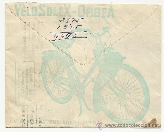 Sellos: O5-CARTA COMERCIAL PUBLICIDAD MURCIA FLORIDABLANCA BICICLETAS ALBURQUERQUE.HISTORIA POSTAL..PUBLICID - Foto 2 - 38035150