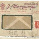 Sellos: O7-CARTA COMERCIAL PUBLICIDAD MURCIA FLORIDABLANCA BICICLETAS ALBURQUERQUE.HISTORIA POSTAL..PUBLICID. Lote 38035298