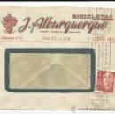 Sellos: O9-CARTA COMERCIAL PUBLICIDAD MURCIA FLORIDABLANCA BICICLETAS ALBURQUERQUE.HISTORIA POSTAL..PUBLICID. Lote 38035652