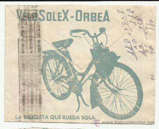 Sellos: O9-CARTA COMERCIAL PUBLICIDAD MURCIA FLORIDABLANCA BICICLETAS ALBURQUERQUE.HISTORIA POSTAL..PUBLICID - Foto 2 - 38035652