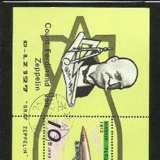Briefmarken - COREA 1979 HOJA BLOQUE EN HOMENAJE A FERDINAND VON ZEPPELIN 1838-1917- ZEPPELINES - 42345887