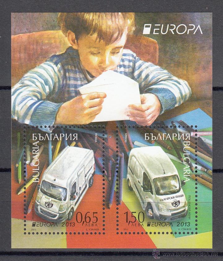 BULGARIA 2013 - CAMIONES . EUROPA - BLOCK (Sellos - Temáticas - Otros Transportes)