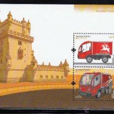 Sellos: PORTUGAL 2013 - COCHES. EUROPA - BLOCK. Lote 43309213