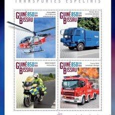 Guinea Bissau 2014 -TRANSPORTES ESPECIALES