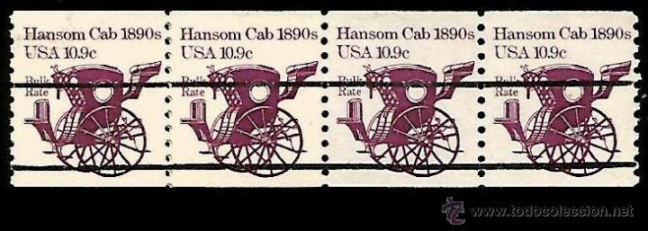 USA - PRECANCELADO 1982 SCOTT 1904A (Sellos - Temáticas - Otros Transportes)