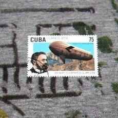 Sellos: SELLOS DE DIRIGIBLES - AUGUST VAN PERSEVAL (1906) - EXPOSICIÓN FILATÉLICA INTERNACIONAL - CUBA. Lote 50423862