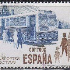 Sellos: EDIFIL 2561, AUTOBUS (UTILICE TRANSPORTES COLECTIVOS), NUEVO ***. Lote 53256082