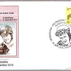 Sellos: MATASELLOS DE MOTOCICLISMO - RUPERT HOLLAUS. TRAISEN, AUSTRIA, 2016. Lote 60805763