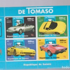 HOJA BLOQUE COCHES 5