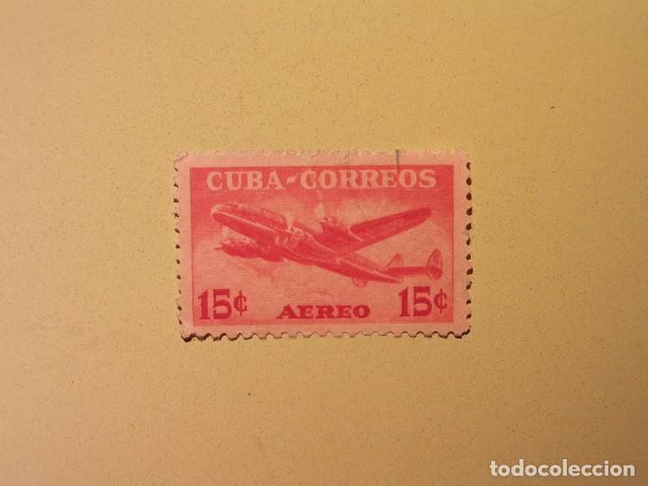 CUBA - AVIÓN (Sellos - Temáticas - Otros Transportes)