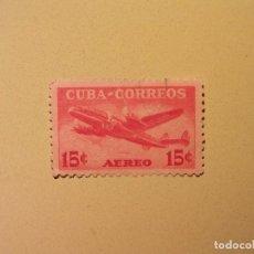 Sellos: CUBA - AVIÓN . Lote 94747103