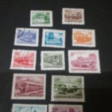 Sellos: SELLOS DE HUNGRÍA (MAGYAR POSTA) MATASELLADO. 1963. BARCO. CAMION. AVION. AUTOBUS.. Lote 121281935