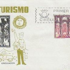 Sellos: EDIFIL 1549, CORDOBA: LA MEZQUITA, PRIMER DIA DE 6-4-1964 EN SOBRE DE ALONSO. Lote 124640503