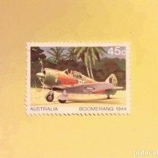 Sellos: AUSTRALIA - AVIACION - BOOMERANG 1944.. Lote 128135171