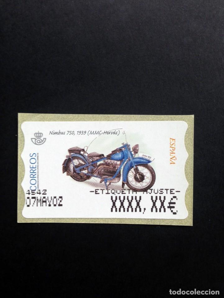 ESPAÑA.AÑO 2002.ATMS./MOTOCICLETAS CLASICAS. (Sellos - Temáticas - Otros Transportes)