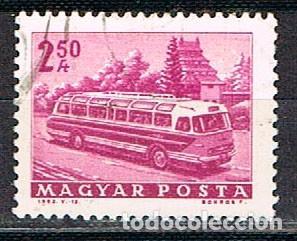 HUNGRIA Nº 1959, AUTOBUS, USADO (Sellos - Temáticas - Otros Transportes)