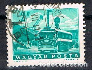HUNGRIA Nº 1958, AUTOCAR DE TELEVISIÓN, USADO (Sellos - Temáticas - Otros Transportes)