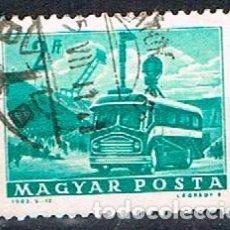 Sellos: HUNGRIA Nº 1958, AUTOCAR DE TELEVISIÓN, USADO. Lote 135447706