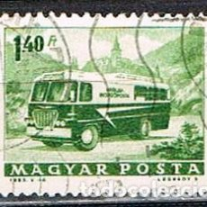 Sellos: HUNGRIA Nº 1956, AUTOBUS POSTAL, USADO. Lote 135448230