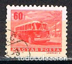 HUNGRIA Nº 1952, AUTOBÚS, USADO (Sellos - Temáticas - Otros Transportes)