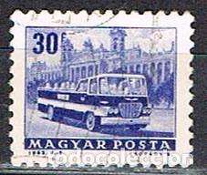 HUNGRIA Nº 1949, CAMIÓN LITERA, USADO (Sellos - Temáticas - Otros Transportes)