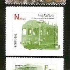 Sellos: PORTUGAL ** & TRANSPORTES PÚBLICOS, III GRUPO, AUTOADHESIVOS 2009 (5778). Lote 148880982