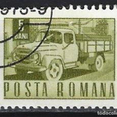 Briefmarken - CAMIONES / RUMANÍA - SELLO USADO - 154190862