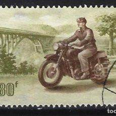 Sellos: MOTOCICLETAS / HUNGRÍA - SELLO USADO. Lote 154194778