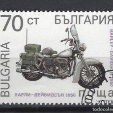 Sellos: MOTOCICLETAS / BULGARÍA - SELLO USADO. Lote 154195166