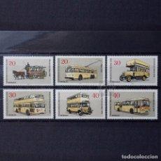 Sellos: ALEMANIA BERLÍN 1973 ~ NUEVO MNH 5/5 ~ TRANSPORTES: AUTOBÚS. Lote 146802422