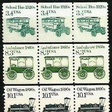 Sellos: USA 1985 TRANSPORTES. Lote 287345078