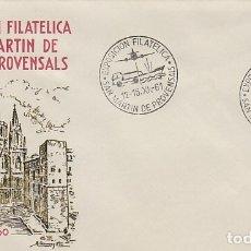 Sellos: AÑO 1961, LOS TRANSPORTES, SAN MARTIN DE PROVENSALS, EN SOBRE DE ALFIL. Lote 178957177