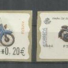 Sellos: ESPAÑA ATM MOTO MOTORBIKE MOTORCYCLE NIMBUS 1939 4 MAQUINAS. Lote 191334168