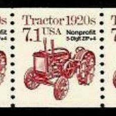 Sellos: USA 1989 TRACTOR PRECANCELADO . Lote 191485157