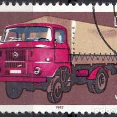 Sellos: 1982 - ALEMANIA - DDR - VEHICULOS COMERCIALES - CAMION W 50 - YVERT 2397. Lote 198685113
