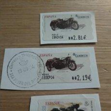 Timbres: ATM MOTOS ESPAÑA. Lote 200788381