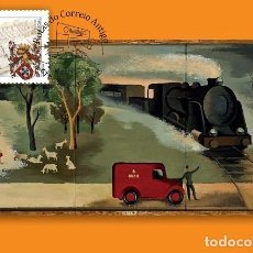 Sellos: PORTUGAL & POSTALE MAXIMO, CEPT EUROPA, RUTAS ANTIGUAS DE CORREO POSTAL 2020 (8022). Lote 205968226