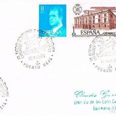 Sellos: AÑO 1980, PUERTO REAL (CADIZ), LA BAHIA GADITANA EXPORTA BUQUES. Lote 206347630