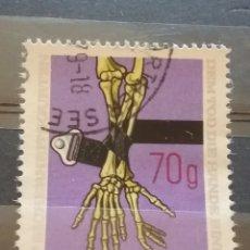 Sellos: SELLOS AUSTRIA (OSTERREICH) MTDOS/1975/SEGURIDAD/VIAL/CINTURON/SEGURIDAD/HUESOS/CUBITO/RADIO/VEHICUL. Lote 209104643