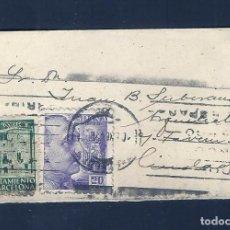Sellos: C-NC-26 HISTORIA POSTAL MINI SOBRE CIRCULADO EN BARCELONA CON SELO DEL AYUNTAMIENTO.. Lote 215480985