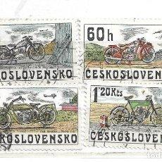Sellos: 1975-CHECOSLOVAQUIA . HISTORIA DE LA MOTOCICLETAS. Lote 215845391