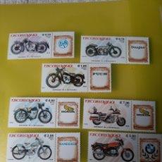Sellos: MOTOS SELLOS SERIE COMPLETA NUEVA YVERT 1368/70 A 1993 /6 AÑO 1985. Lote 219705680