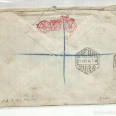 Sellos: CIRCULADA 1946 DE GARAJE BILBAO A MONDER - SURRAY INGLATERRA. Lote 221264731