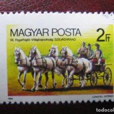 Sellos: +HUNGRIA, 1984, YVERT 2922. Lote 221909741