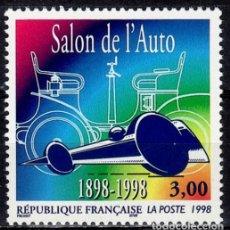 Sellos: SELLOS FRANCIA 1998 3186 SALON DEL AUTOMOVIL 1V. B. Lote 222643578