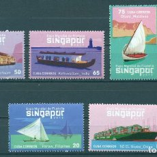 Sellos: 5979 CUBA 2015 MNH WORLD STAMP EXHIBITION SINGAPORE '15. Lote 226310688