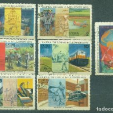 Sellos: 1613 CUBA 1970 U THE CUBAN SUGAR HARVEST TARGET, OVER 10 MILLION TONS. Lote 226311628