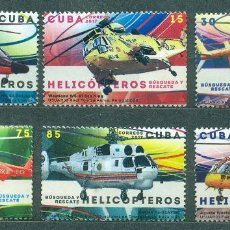Sellos: 6250 CUBA 2017 MNH HELICOPTERS. Lote 226313581